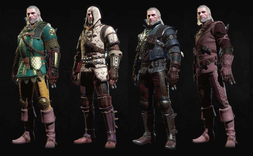 Новая броня Кровь и Вино Ведьмак 3-3