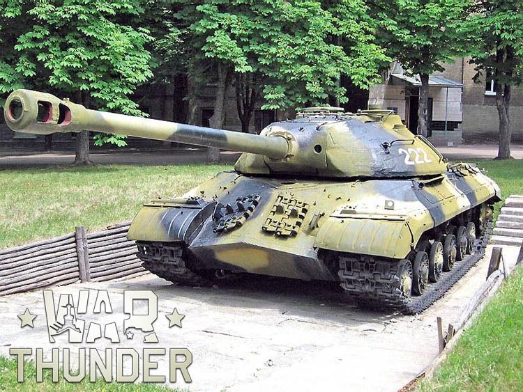War Thunder: танк ИС-3