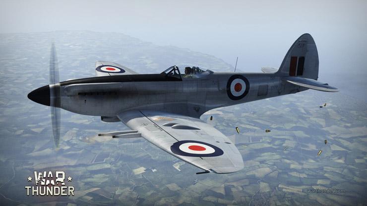 War Thunder: британская ветка самолетов