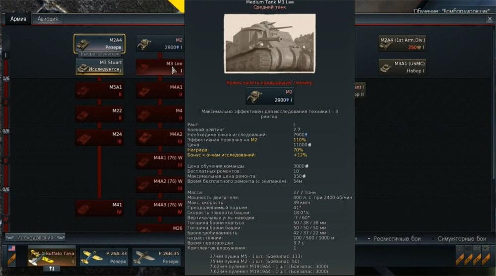 вар тандер американские танки как играть