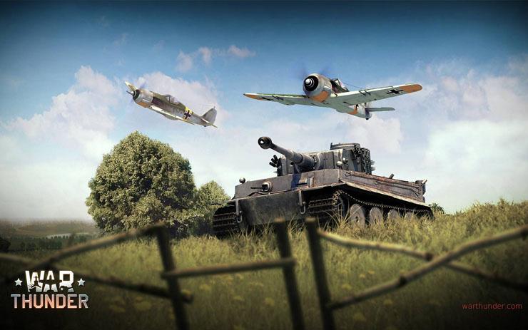 Немецкая ветка танков в War Thunder