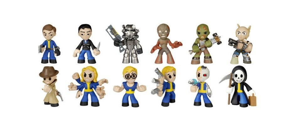 Фигурки персонажей из Fallout 4
