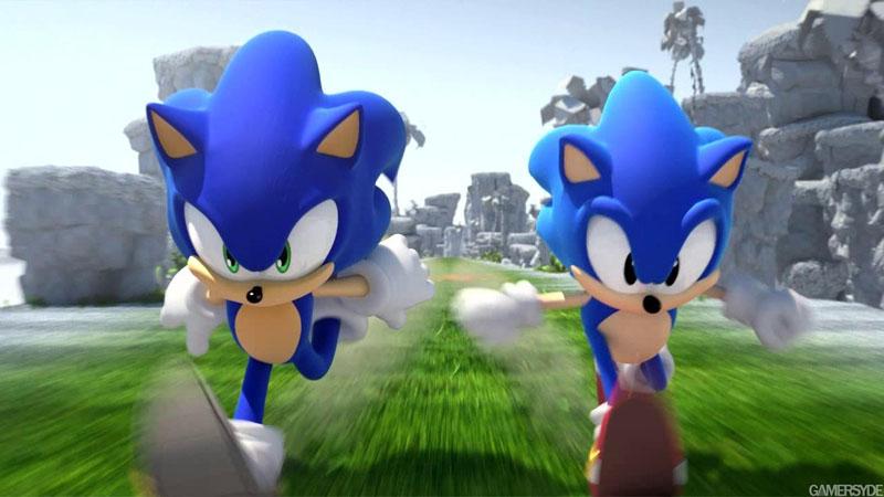 Sonic Generations и Шайа Лабаф