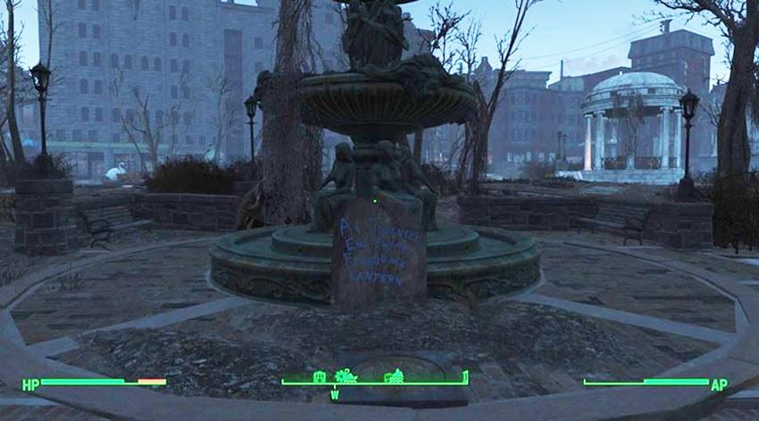 Бостон-Коммон в Fallout 4