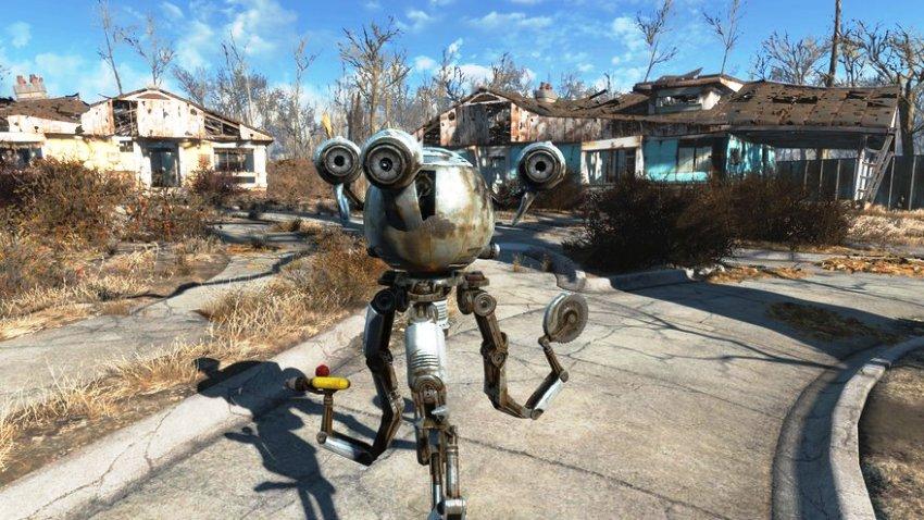 Кюри в Fallout 4