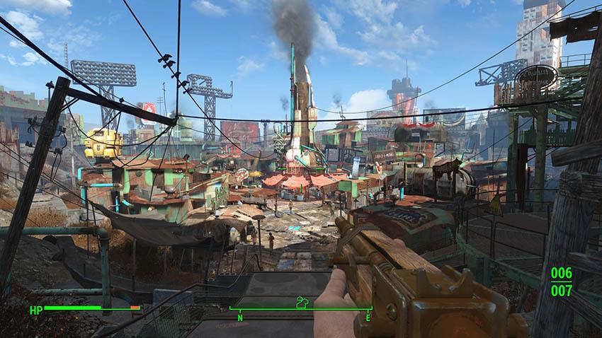 Даймонд-Сити в Fallout 4