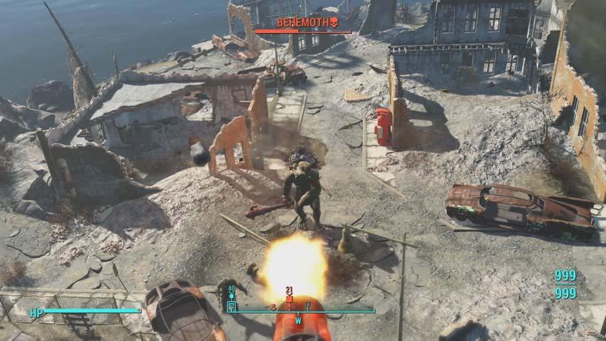 Форт Стронг в Fallout 4