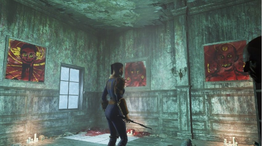 Галерея Пикмана в Fallout 4