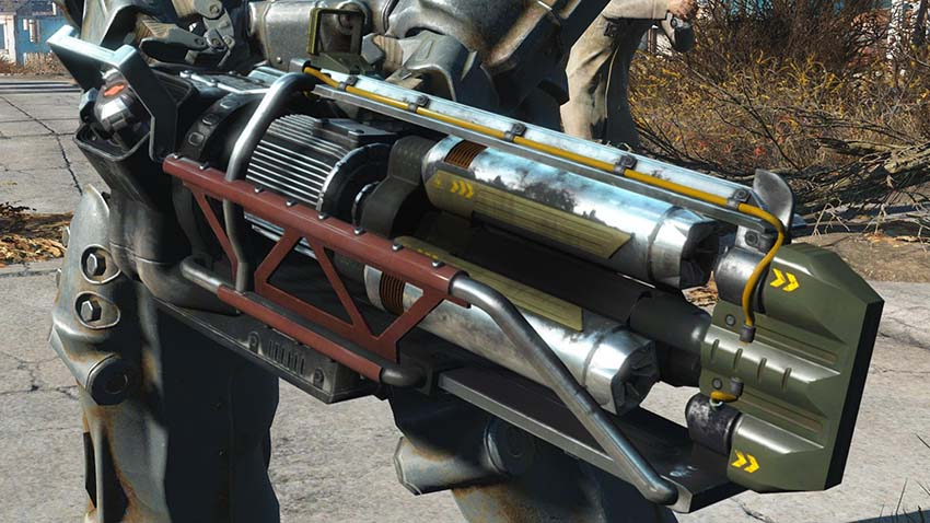Гатлин лазер в Fallout 4