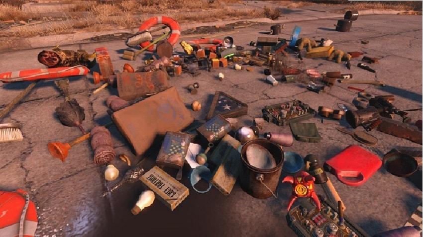 Где хранить вещи в Fallout 4