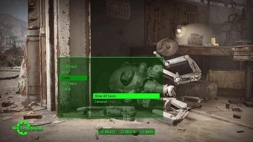 Где хранятся сохранения в Fallout 4