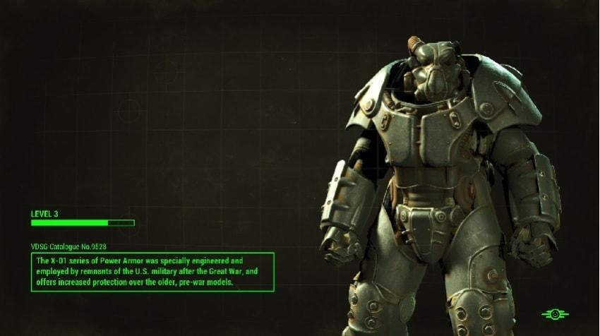 Где найти броню X-01 в Fallout 4