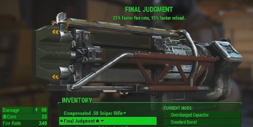 Где найти гатлинг лазер в Fallout 4