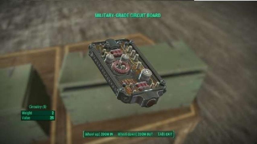 Где найти проводку в Fallout 4