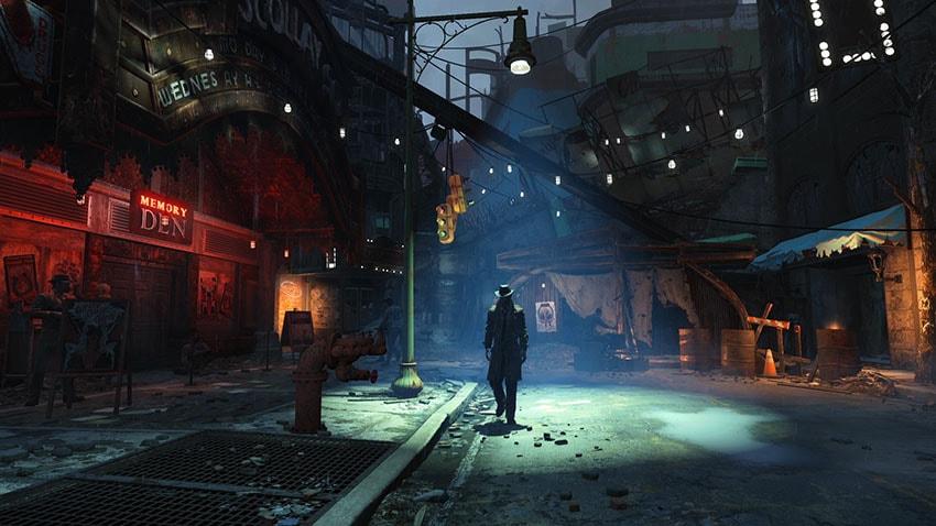 Генри Кук в Fallout 4