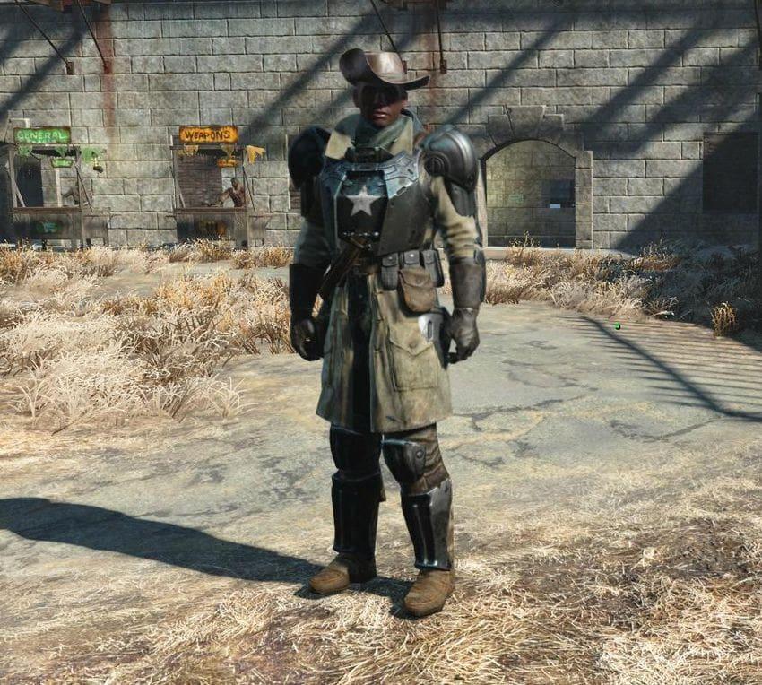 Id брони в Fallout 4