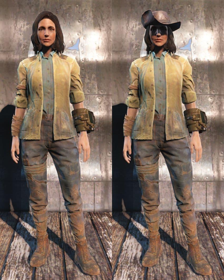 Id одежды Fallout 4