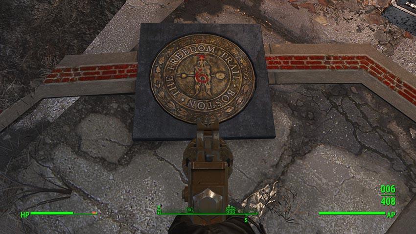 Идти дальше по Пути Свободы Fallout 4