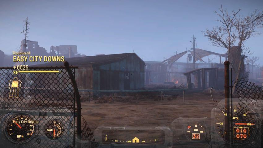 Кайф сити в Fallout 4
