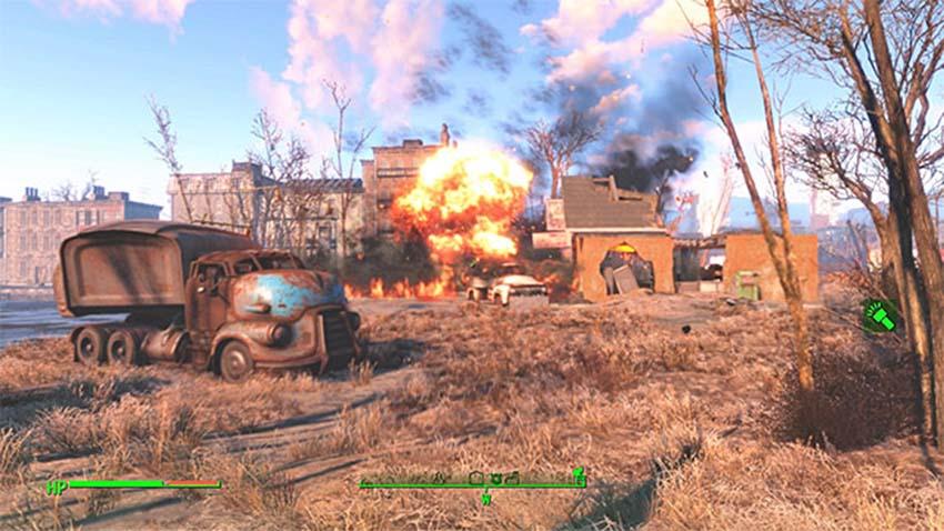 Как бросить гранату в Fallout 4