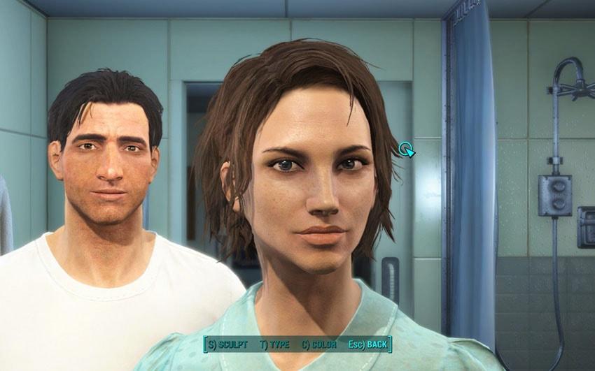 Как изменить внешность в Fallout 4