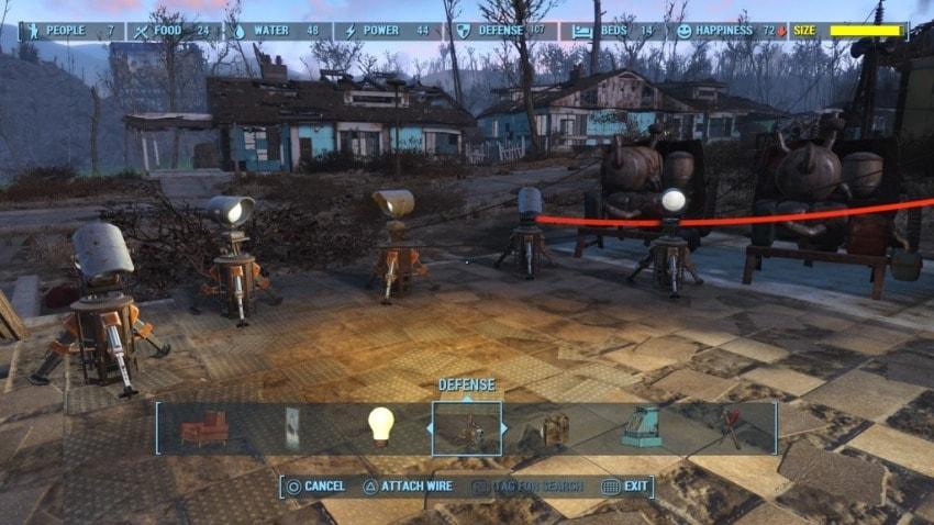 Как подключить электричество в Fallout 4