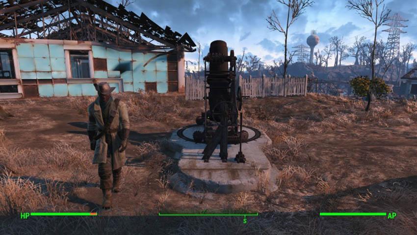 Как построить артиллерийскую установку в Fallout 4