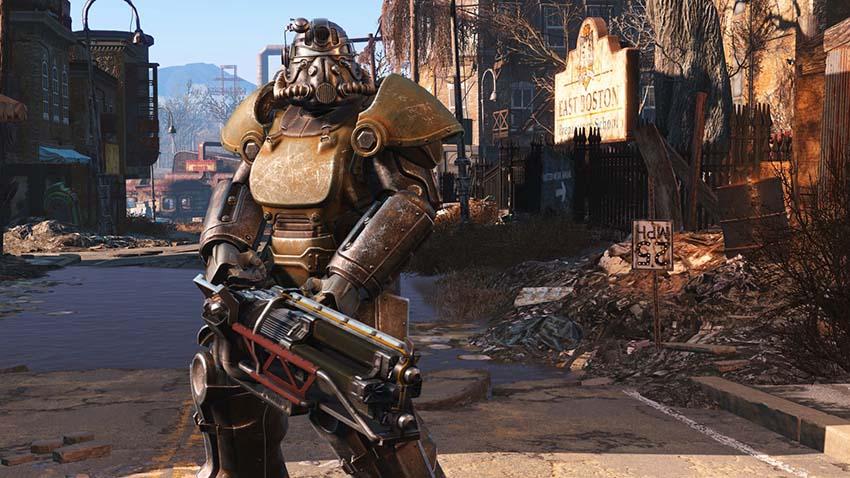Как проникнуть в арсенал замка в Fallout 4