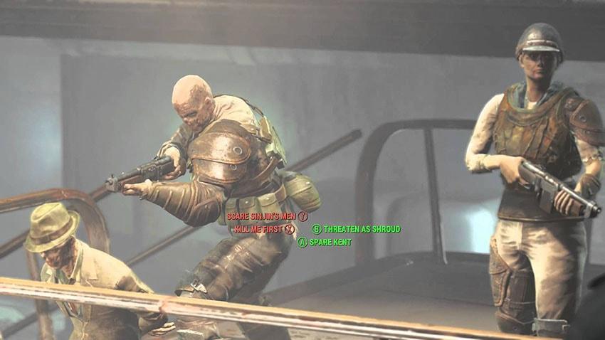 Как спасти Кента в Fallout 4 Серебряный плащ