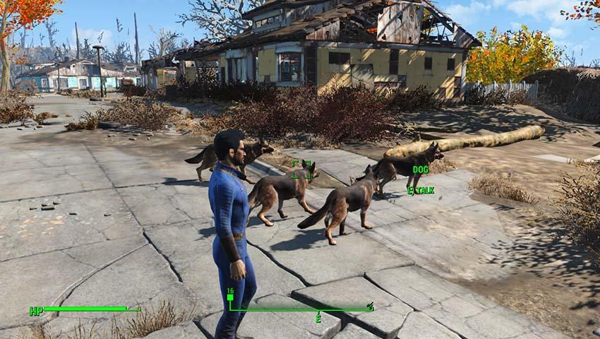 Как вернуть собаку в Fallout 4