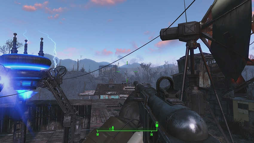 Как включить перехватчик сигнала в Fallout 4