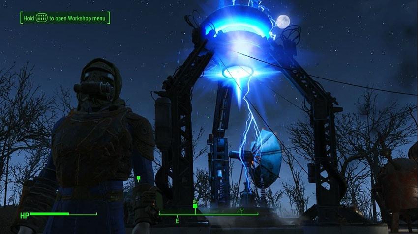 Как подключить платформу-отражатель в Fallout 4