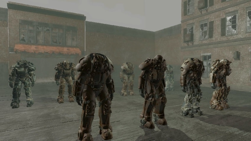 Как выйти из тестовой комнаты в Fallout 4