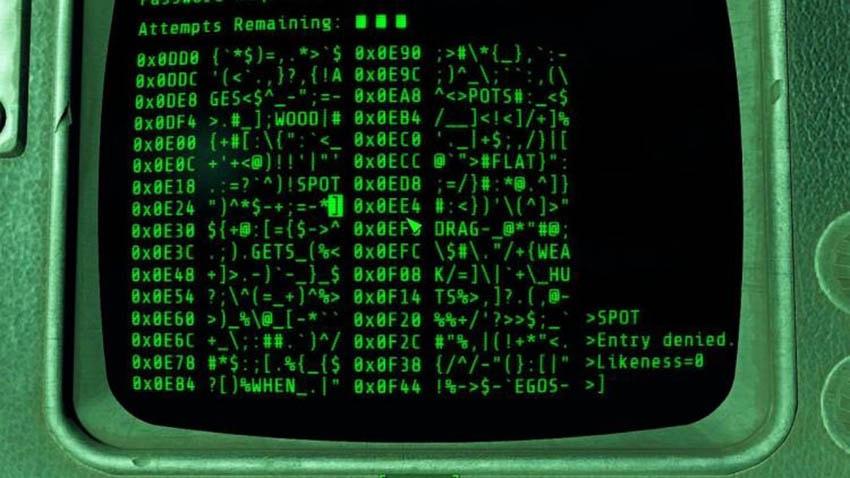 Как взламывать терминалы в Fallout 4