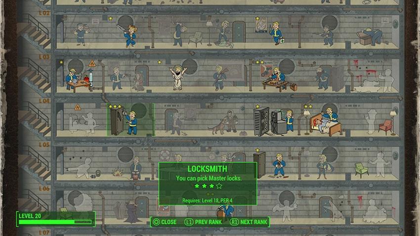 Какой максимальный уровень героя в Fallout 4