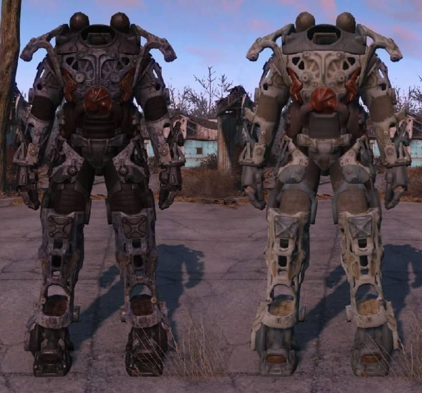 Каркас силовой брони в Fallout 4