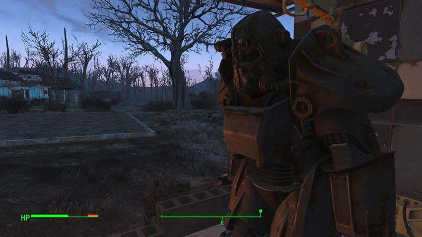 Карта силовой брони в Fallout 4