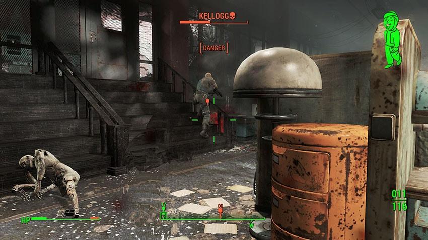 Келлог в Fallout 4