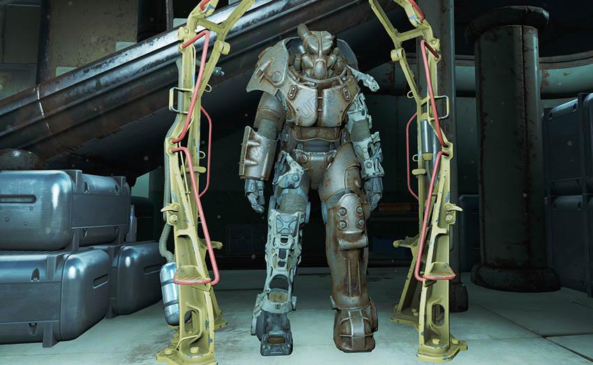 Коды на броню в Fallout 4