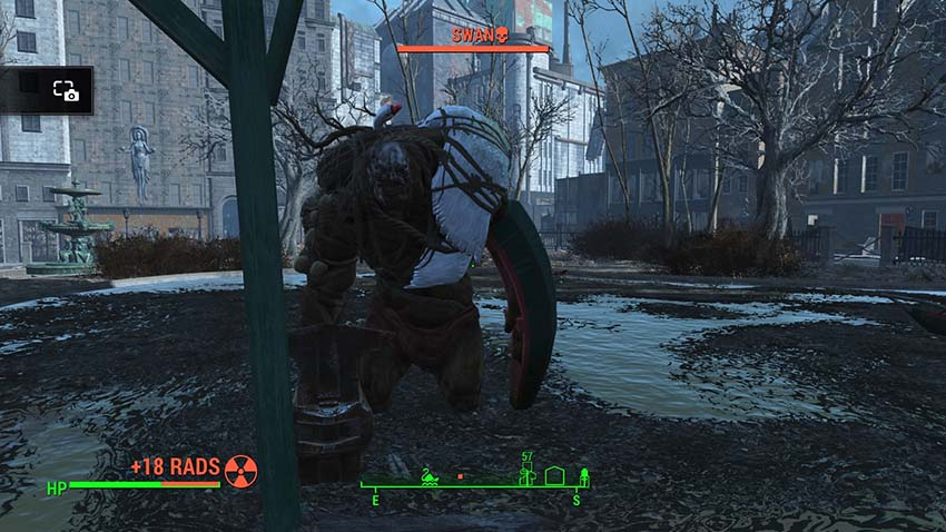 Лебедь в Fallout 4