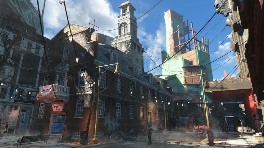Локации в Fallout 4