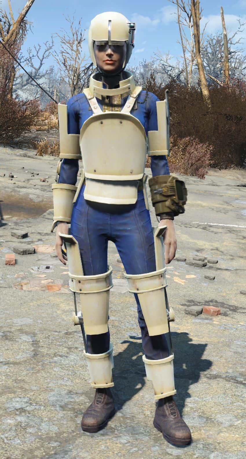 Лучшая не силовая броня в Fallout 4