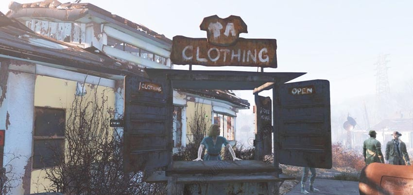 Магазины в поселениях Fallout 4
