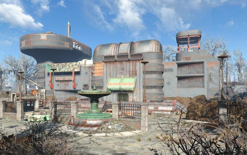 Мед Тек Рисерч в Fallout 4