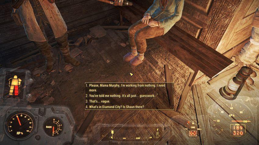 Мод на диалоги в Fallout 4