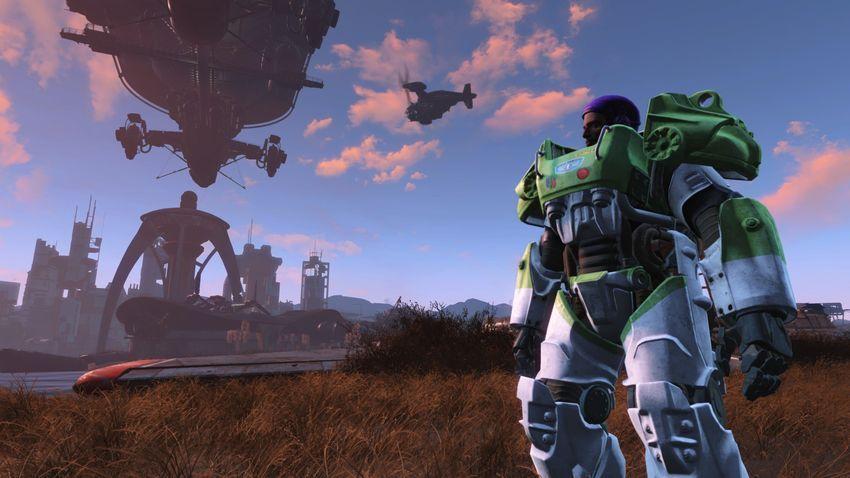 Моды на броню в Fallout 4