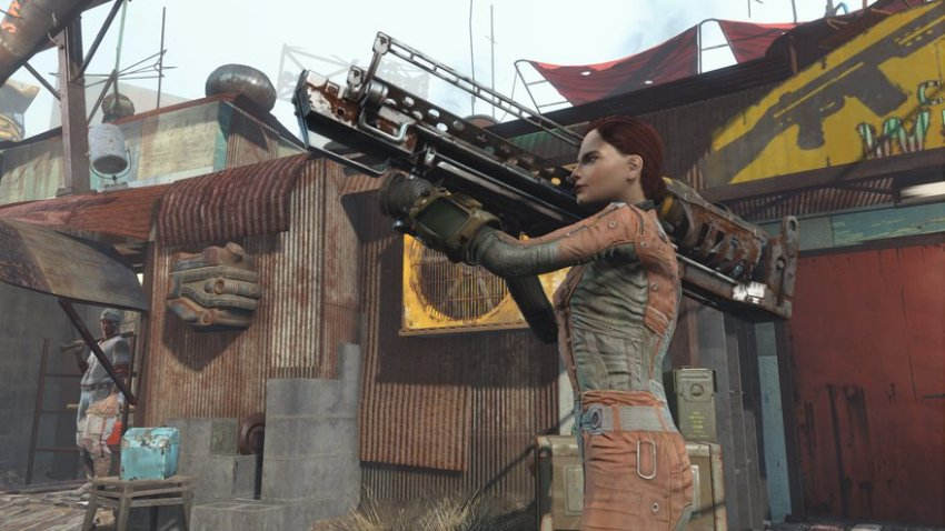 Оружие в Fallout 4