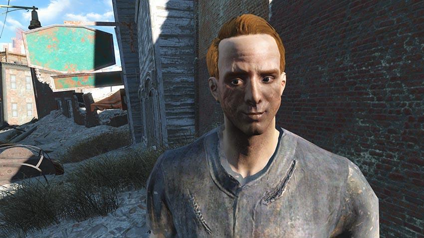 Паркер Куинн в Fallout 4