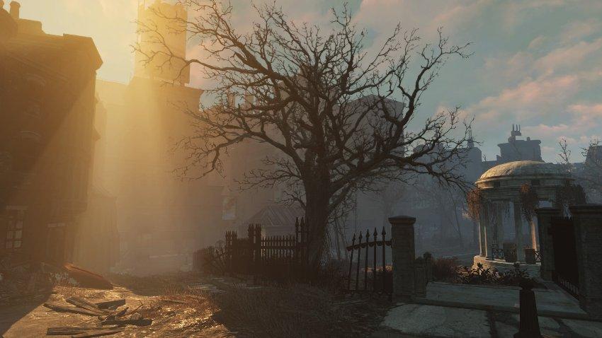 Полная карта Fallout 4