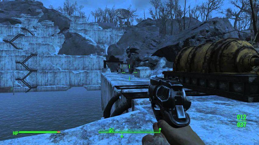 Прохождение Карьер Тикет Fallout 4